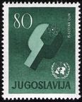 Yugoslavia-24-Oct-1960-Scott-589