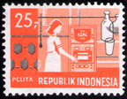 Indonesia-27-Sep-1969-Scott-772